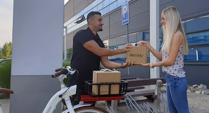 Converting Besv CF1 and turning it to a food delivery bike