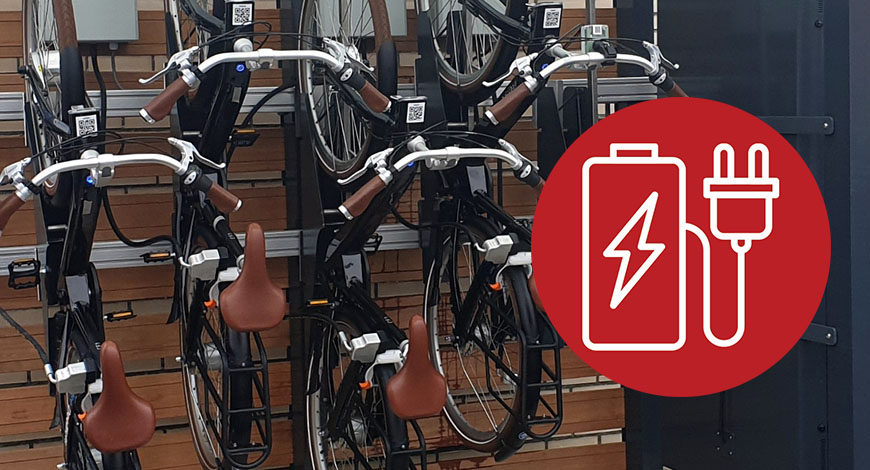 New bike feature – Lock and load functionality