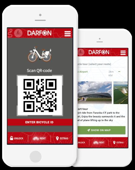 darfon mobility phone icon